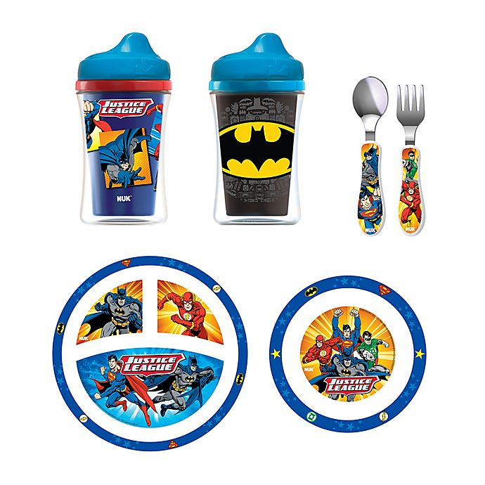 Alternate image 1 for NUK® Justice League Toddler Feeding Set
