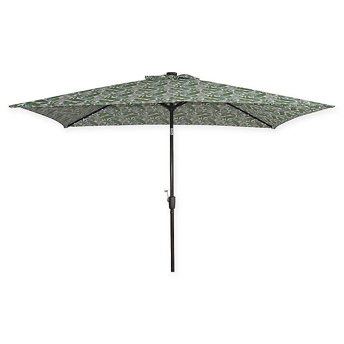 Buy Destination Summer Rectangular Solar Umbrella In