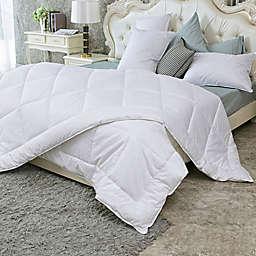 Puredown Year Round Down Alternative Twin XL Comforter in White