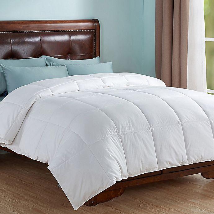 Alternate image 1 for Peace Nest All Season Down Alternative King Comforter in White