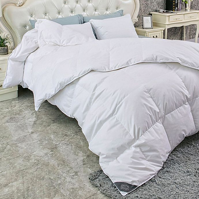 Alternate image 1 for Puredown 233-Thread-Count Light Warmth Duck Down Comforter
