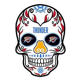 NBA Oklahoma Thunder Skull Outdoor Decal