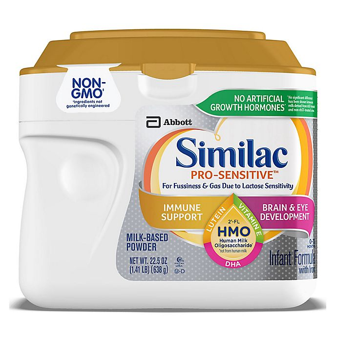 Alternate image 1 for Similac® Pro-Sensitive™ 22.5 oz. Infant Formula for Immune Support with Iron