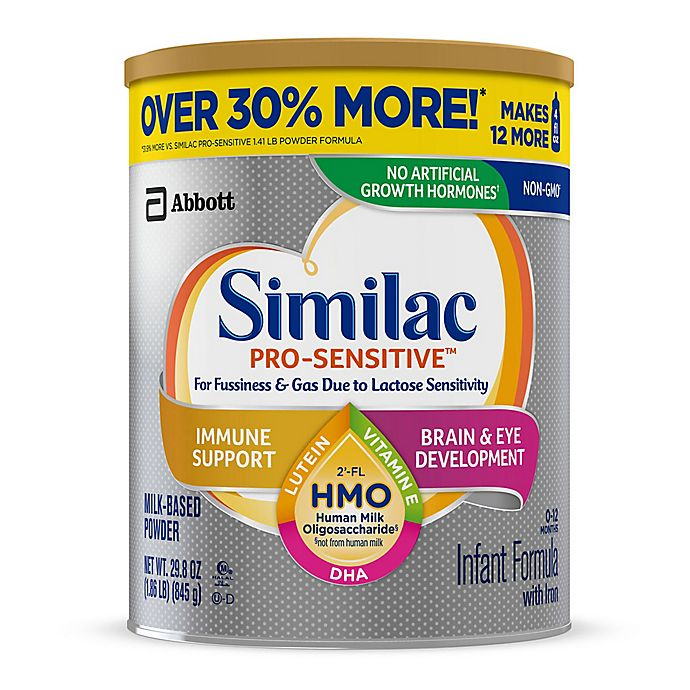 Alternate image 1 for Similac® Pro-Sensitive Value Size 29.8 oz. Infant Formula Powder