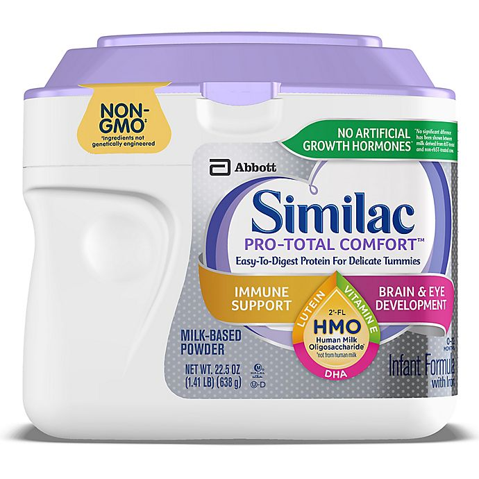 Alternate image 1 for Similac® Pro-Total Comfort™ Non-GMO 22.5 oz. Infant Formula Powder