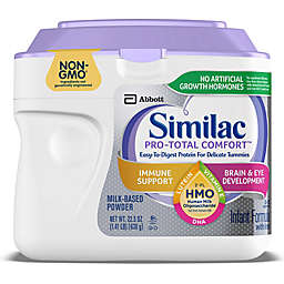 <ul><li>Similac® Pro-Total Comfort™ Non-GMO 22.5 oz. Infant Formula Powder</li></ul>