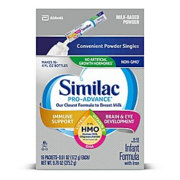 Similac® Pro-Advance™ 16-Count Infant Formula Powder Stick Packs
