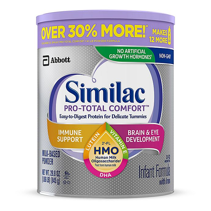 Alternate image 1 for Similac® Pro-Total Comfort™ Non-GMO 29.8 oz. Easy to Digest Infant Formula Powder