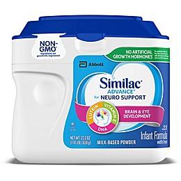 Similac® Advance® 1.45 lb. Non-GMO Powder Infant Formula with Iron