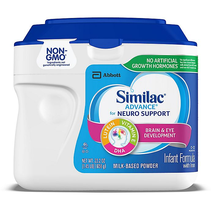 Alternate image 1 for Similac® Advance® 1.45 lb. Non-GMO Powder Infant Formula with Iron