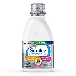 Similac Pro-Advance Non-GMO with 2'-FL HMO Infant Formula Ready-to-Feed 32 oz. Bottle