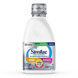 Similac Pro-Advance Non-GMO with 2'-FL HMO Infant Formula Ready-to-Feed 32 oz. Bottle