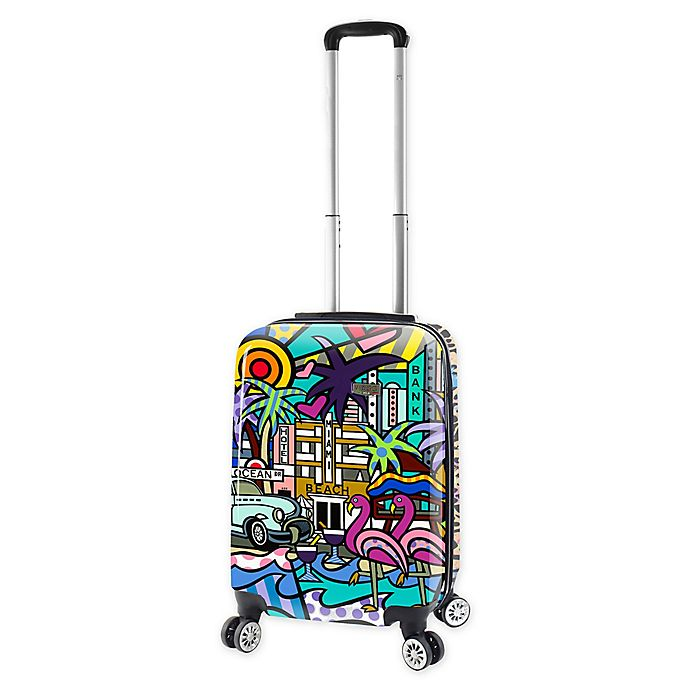 Alternate image 1 for Mia Viaggi Lifestyle 20-Inch Carry On Luggage