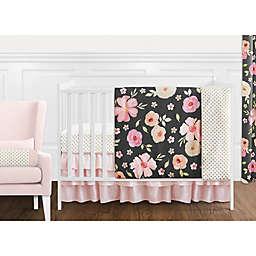 Sweet Jojo Designs® Watercolor Floral Crib Bedding Collection