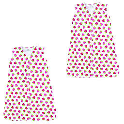 Luvable Friends® 2-Pack Strawberry Sleeping Bag in Pink