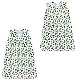 Luvable Friends® 2-Pack Moose Sleeping Bags in Green