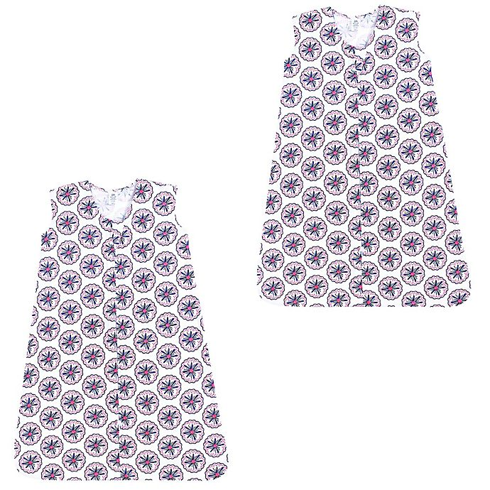 Alternate image 1 for Yoga Sprout® 2-Pack Bloom Sleeping Bags in Pink