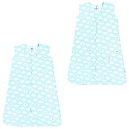 Luvable Friends® 2-Pack Clouds Sleep Sacks in Blue