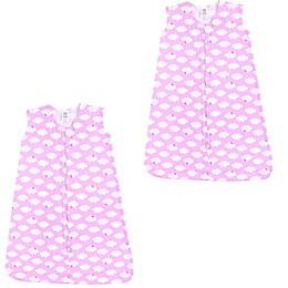 Luvable Friends® 2-Pack Clouds Sleep Sacks in Pink