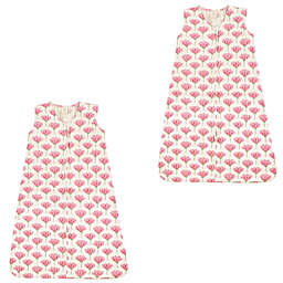 Touched by Nature 2-Pack Tulip Wearable Blankets in Pink