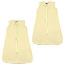 Hudson Baby® 2-Pack Fleece Sleep Sacks in Cream