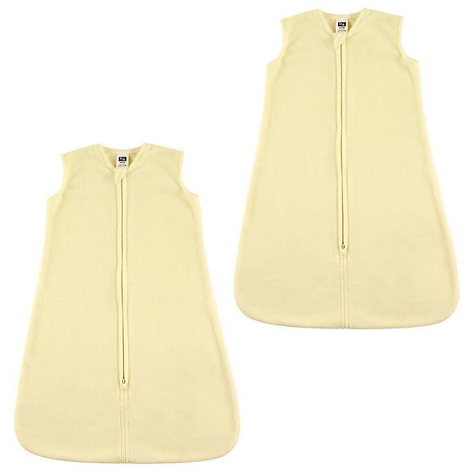 Alternate image 1 for Hudson Baby® 2-Pack Fleece Sleep Sacks in Cream