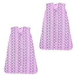 Hudson Baby® 2-Pack Boho Elephant Sleep Sacks in Pink