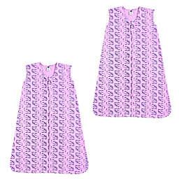 Hudson Baby® Size 12-18M 2-Pack Boho Elephant Sleep Sacks in Pink