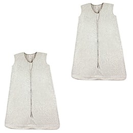Touched by Nature 2-Pack Sleeveless Wearable Blankets in Heather Grey