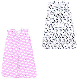 Luvable Friends® 2-Pack French Poodle and Clouds Sleep Sacks in Pink