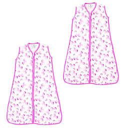Luvable Friends® Size 6-12M 2-Pack Unicorn Sleep Sacks in Pink