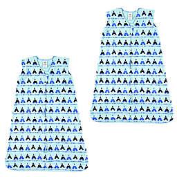 Luvable Friends® Size 12-18M 2-Pack Tepee Sleep Sacks in Blue