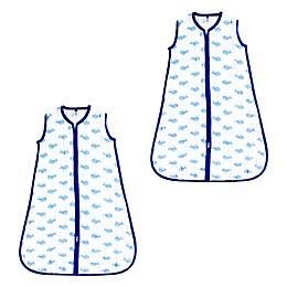 Hudson Baby® 2-Pack Whale Wearable Blankets in Blue