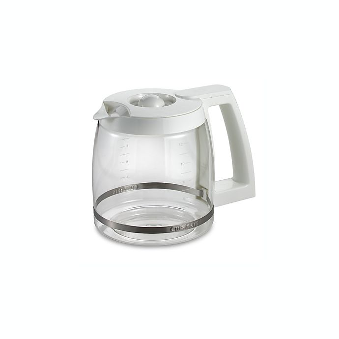 Alternate image 1 for Cuisinart® 12-Cup Replacement Carafe in White