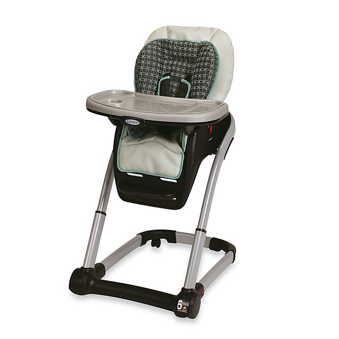 Alternate image 1 for Graco® Blossom™ DLX 4-in-1 High Chair Seating System in Cascade
