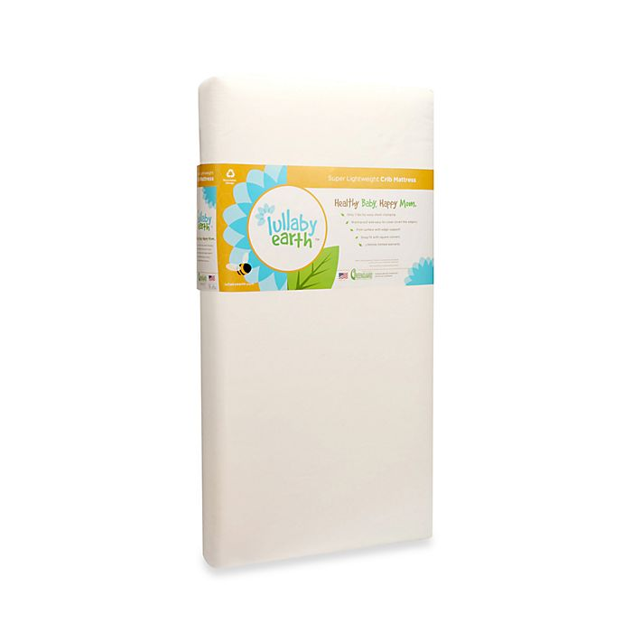 Alternate image 1 for Lullaby Earth™ Super Lightweight Baby Crib & Toddler Mattress