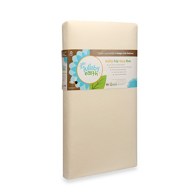 Alternate image 1 for Lullaby Earth™ Super Lightweight Baby Crib & Toddler Mattress Stage 2