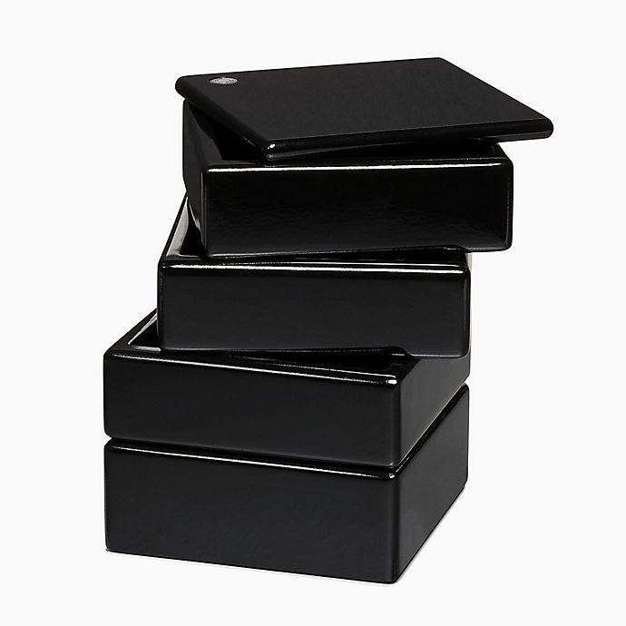 Alternate image 1 for Calvin Klein Walter 4-Tier Accessory Organizer in Black