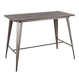 LumiSource® Oregon Industrial Counter Table