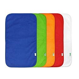 green sprouts® 5-Pack Waterproof Absorbent Boys Terry Burp Pad