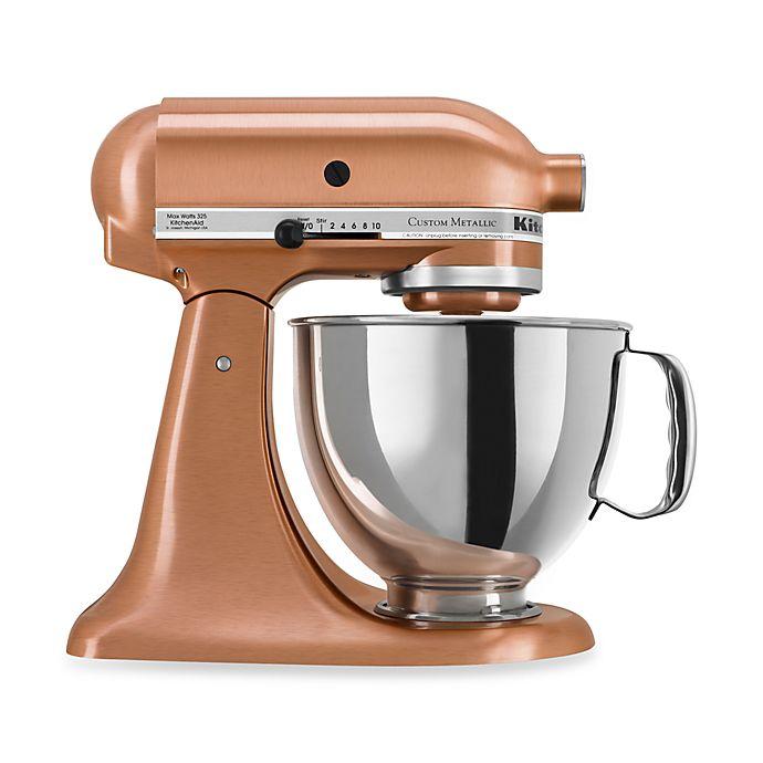 Alternate image 1 for KitchenAid® 5-Quart Artisan™ Custom Metallic Stand Mixer in Copper