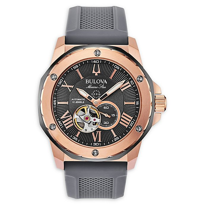 Alternate image 1 for Bulova Marine Star Men's 45mm 98A228 Automatic Watch