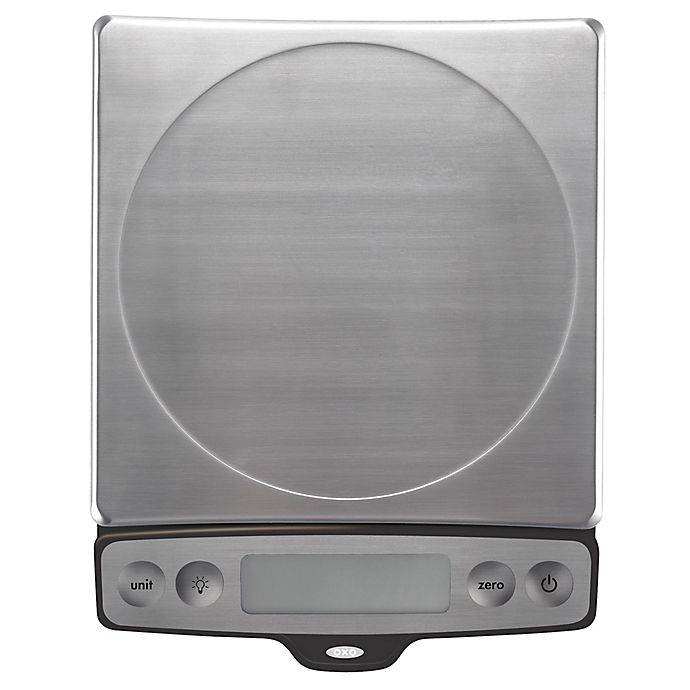 Alternate image 1 for OXO 22-Pound Food Scale with Pull-Out Display