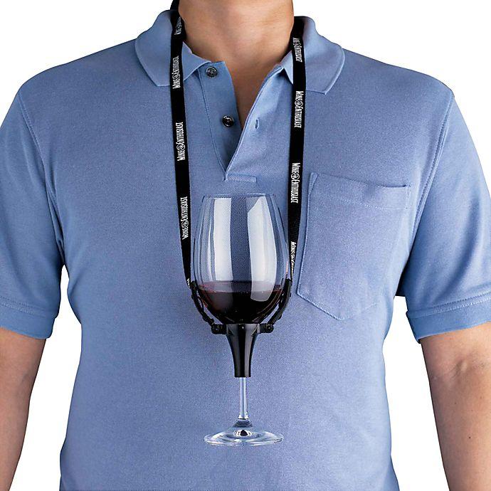 Alternate image 1 for Wine Glass Holders (Set of 2)