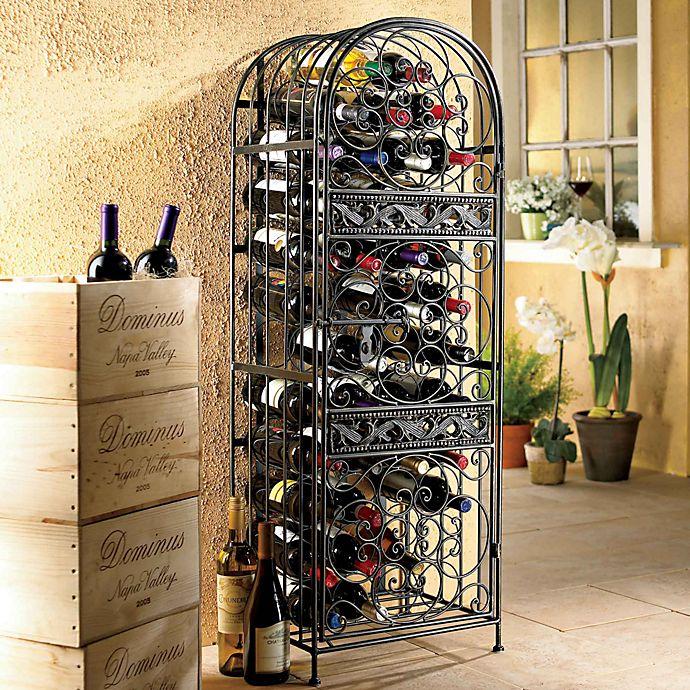 Alternate image 1 for Wine Enthusiast™ Renaissance Wrought Iron Wine Jail