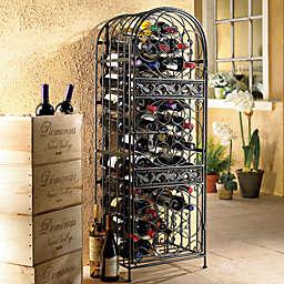 Wine Enthusiast™ Renaissance Wrought Iron Wine Jail
