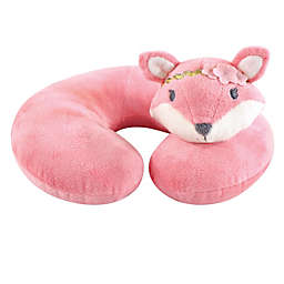 Hudson Baby® Miss Fox Baby Head/Neck Support Pillow in Pink