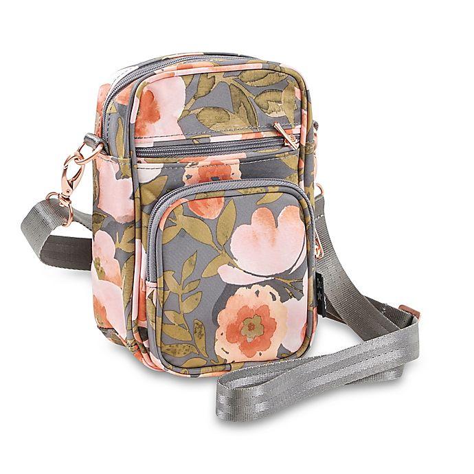 Alternate image 1 for Ju-Ju-Be® Mini Helix Messenger Diaper Bag