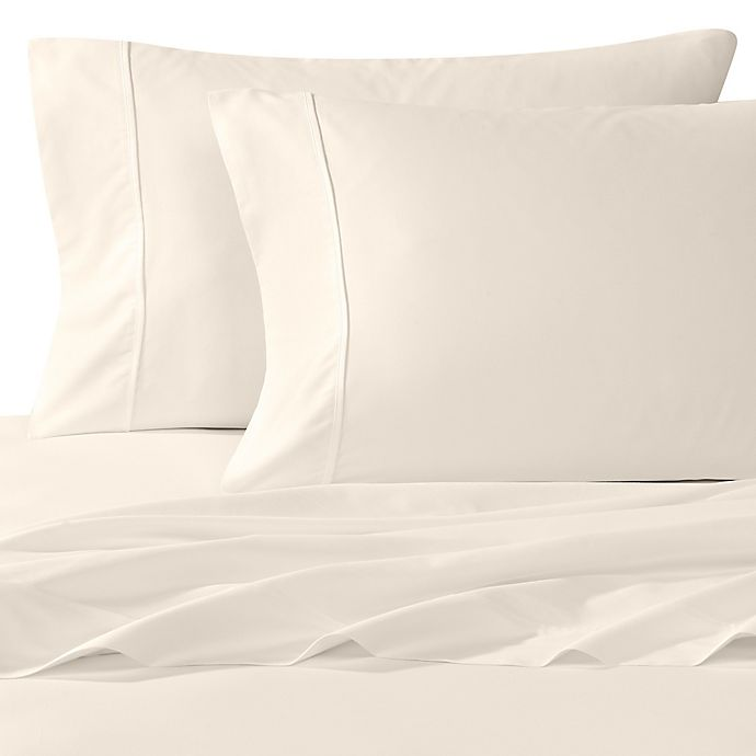 Alternate image 1 for Wamsutta® 400-Thread-Count King Pillowcases in Ivory (Set of 2)