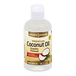 Nature's Reward 8 fl. oz. Premium Coconut Oil Expeller Pressed